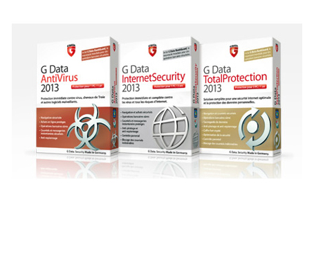 G DATA AntiVirus - Internet Security - G DATA MobileSecurity 2 - G Data BankGuard