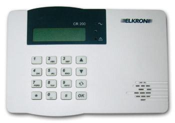 Centrale d 39 alarme elkron cr200 basic solutions for Alarme pour maison individuelle